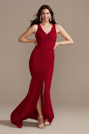 Long Sheath Halter Dress - Jump