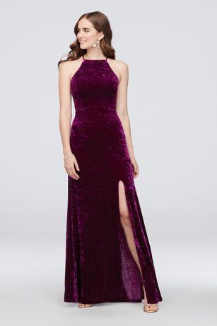 Long Sheath Wedding Dress - Morgan and Co