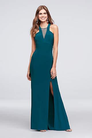 Blue Prom Dresses: Short & Long Lengths | David\'s Bridal