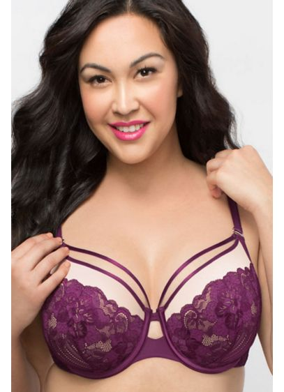 Curvy Couture Tulip Smooth T-Shirt Bra - This bra's super-soft lightweight cups and graduated soft