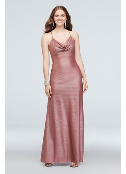Long Sheath Spaghetti Strap Formal Dresses Dress - Morgan and Co