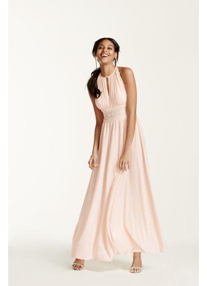 Long A-Line Halter Formal Dresses Dress - RM Richards