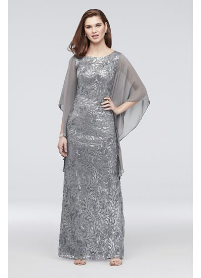 Long A-Line Long Sleeves Formal Dresses Dress - Le Bos