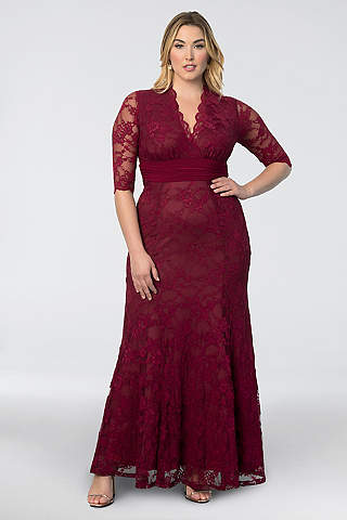 Red Wedding Dresses & Gowns | David\'s Bridal