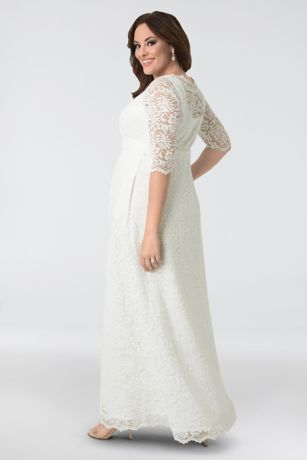 Casual Plus Size Wedding Dresses