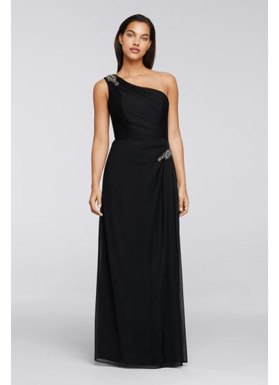 Long Sheath One Shoulder Mother and Special Guest Dress -