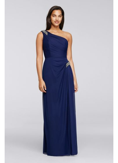 Long Sheath One Shoulder Formal Dresses Dress - Alex Evenings