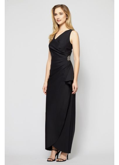 Long 0 Strapless Cocktail and Party Dress - Alex Evenings