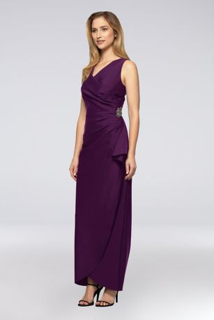 Long Strapless Dress - Alex Evenings
