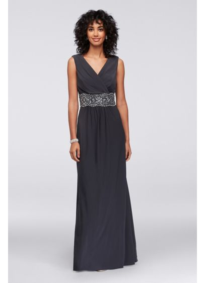 Long Ballgown Short Sleeves Formal Dresses Dress - Alex Evenings