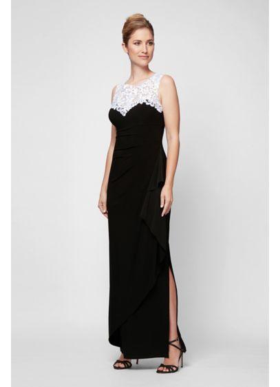 Long Sheath Tank Formal Dresses Dress - Alex Evenings