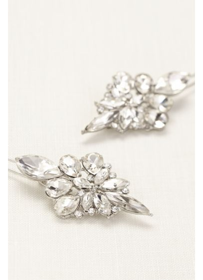 Faceted Marquise Barrette - Wedding Accessories