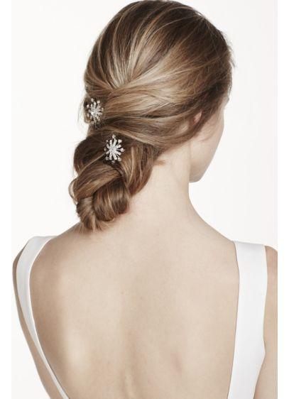 Set of Two Starburst Hairpins - Wedding Accessories
