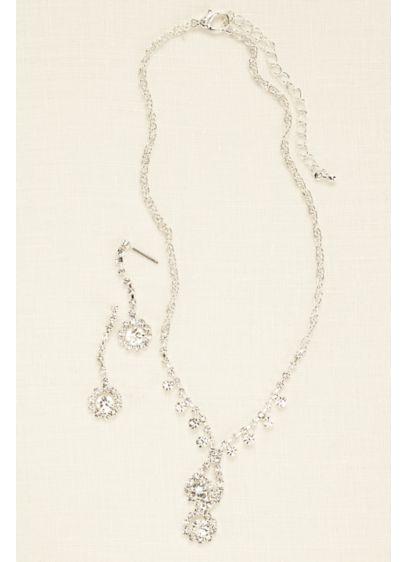 Delicate Floral Cystal Set - Wedding Accessories