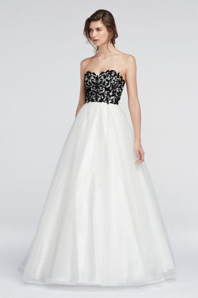 Long Ballgown Wedding Dress Colors