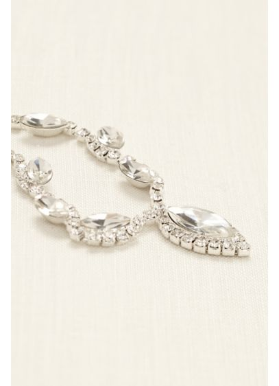 Mini Rhinestone Chain Hair Swag - Wedding Accessories