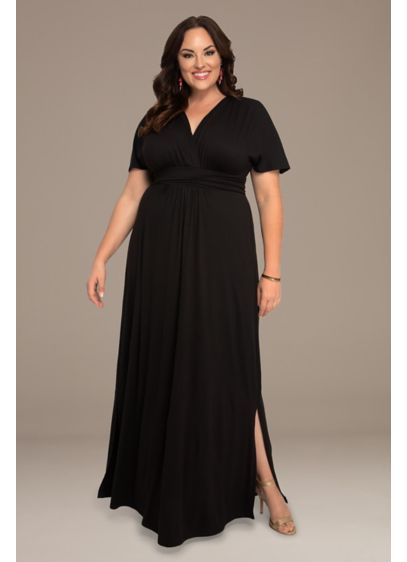 Vienna Plus Size Maxi Dress
