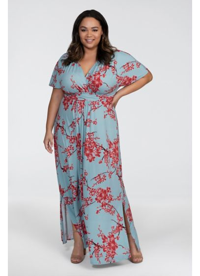 Vienna Plus Size Maxi Dress | David\'s Bridal