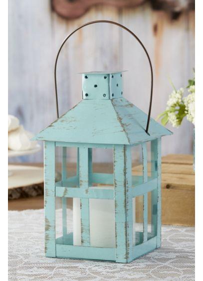 Vintage Distressed Medium Lantern Set - Wedding Gifts & Decorations