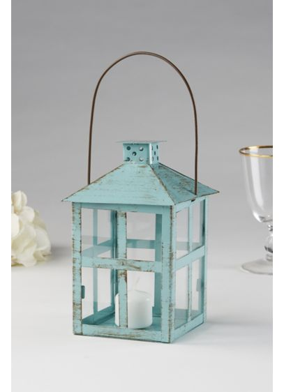 Vintage Distressed Large Lanterns - Wedding Gifts & Decorations