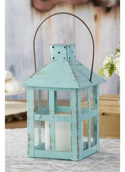 Vintage Distressed Extra Large Lantern - Wedding Gifts & Decorations