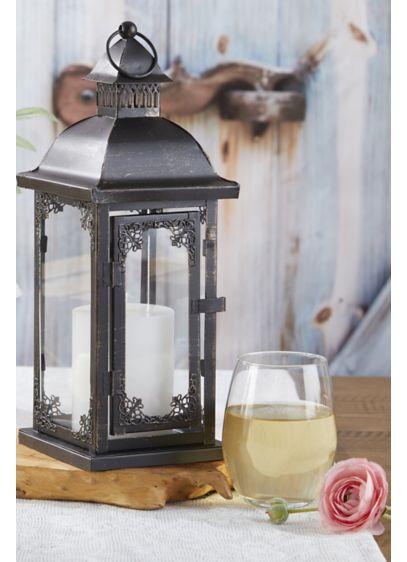 Ornate Antique Medium Lantern - Wedding Gifts & Decorations