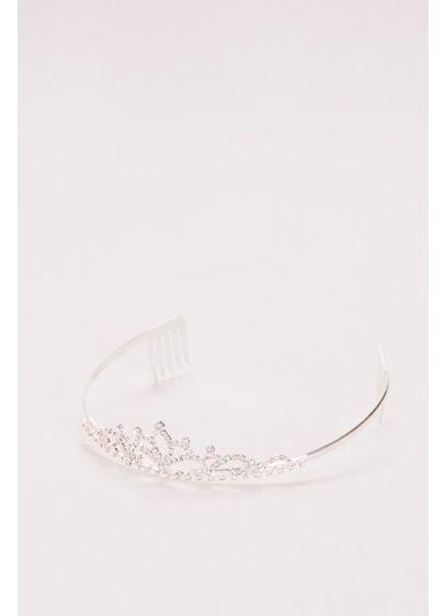 David's Bridal Grey (Flower Girl Tiara with Scrolling Crystals)