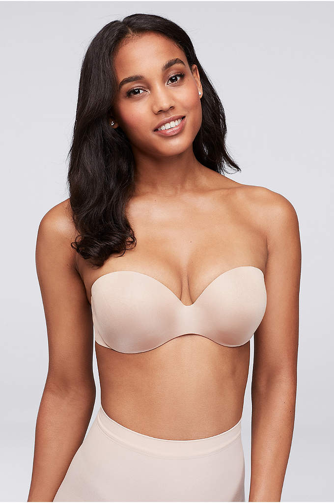 Felina Body Luxe Bra - Anti-slip silicone and graduated contour padding give this