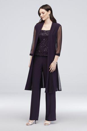 Long Jumpsuit Jacket Dress - RM Richards