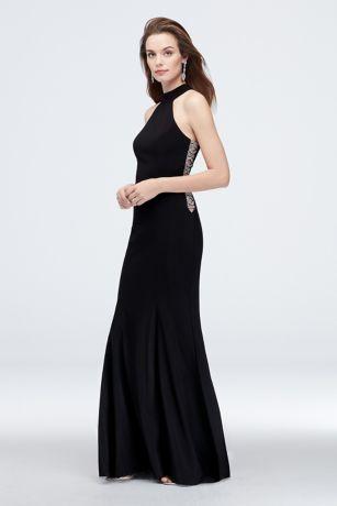 Long Sheath Halter Dress - Xscape