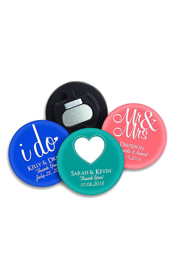 DB Exclusive Personalized Bottle Opener - Bottle openers make a great wedding favor and