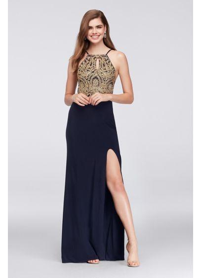 Long Sheath Wedding Dress - Blondie Nites