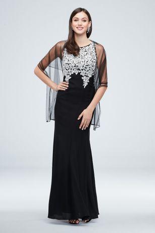 Long Sheath Halter Dress - Alex Evenings