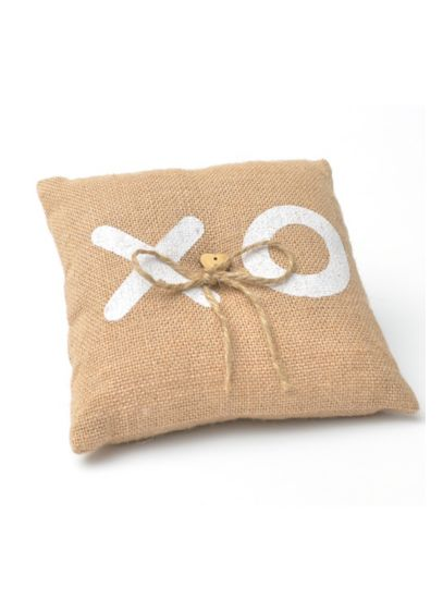 XO Ring Bearer Pillow - Wedding Gifts & Decorations