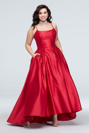 Long Ballgown Wedding Dress - Blondie Nites