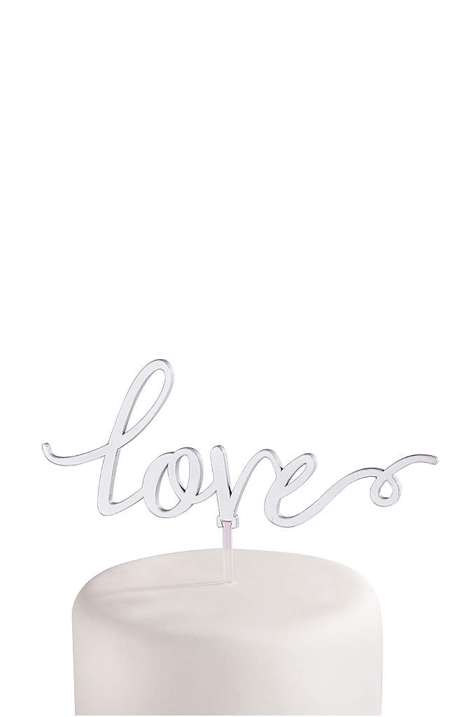Love Cake Topper - Adorn your wedding cake with this beautiful love