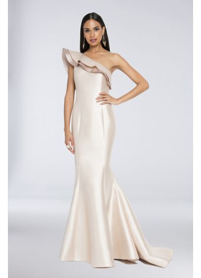 Long Mermaid / Trumpet Off the Shoulder Formal Dresses Dress - Terani Couture