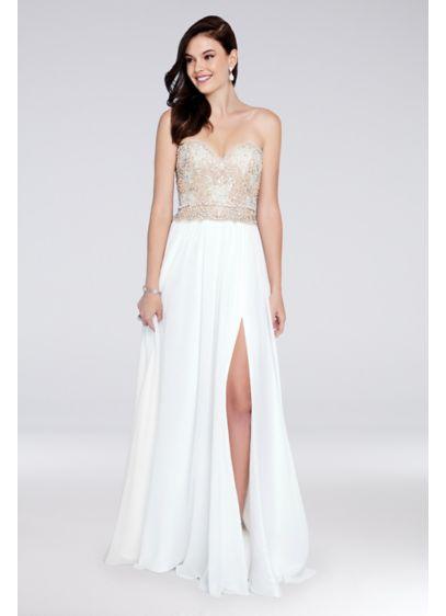 Long Ballgown Formal Dresses Dress - Terani Couture