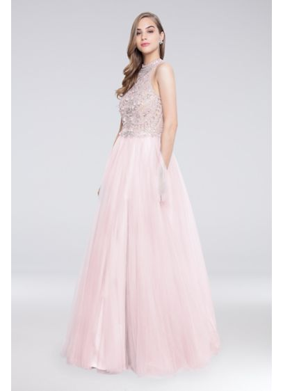 Long Ballgown Cocktail and Party Dress - Terani Couture