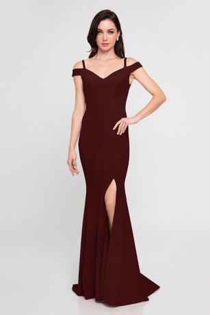 Long Sheath Dress - Terani Couture