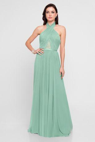 Long Ballgown Dress - Terani Couture