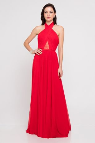 Long Ballgown Dress - Terani Couture