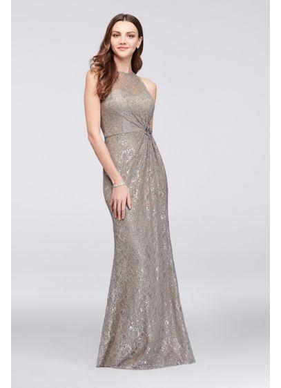 Long Sheath Halter Formal Dresses Dress - Glamour by Terani