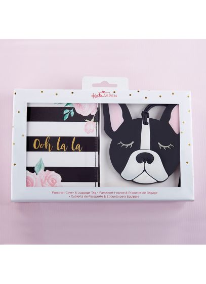 Ooh La La Getaway Gift Set - Perfect for all your jetsetter guests, Kate Aspen's