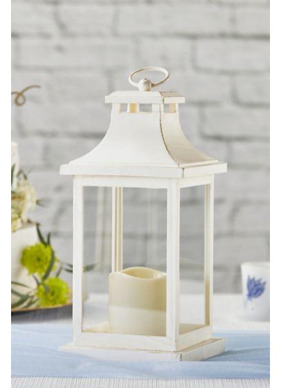 LED Vintage Decorative Ivory Lantern - Wedding Gifts & Decorations