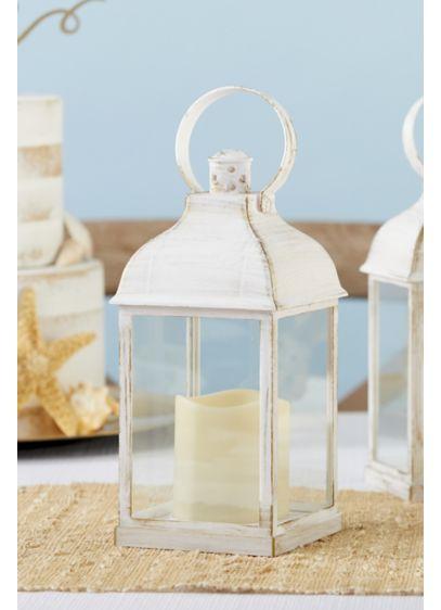 LED Vintage Decorative White Lantern Set - Wedding Gifts & Decorations