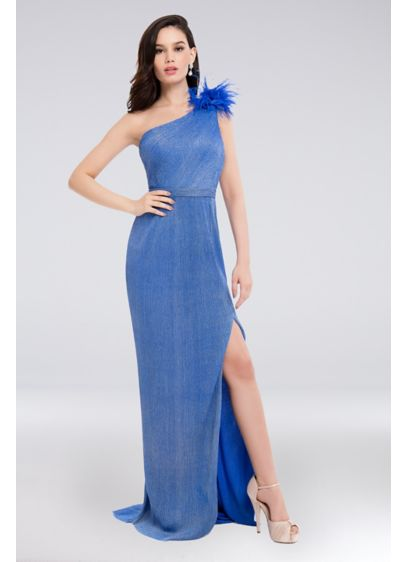 Long Sheath One Shoulder Formal Dresses Dress - Terani Couture