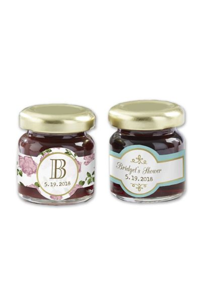 Personalized Tea Time Strawberry Jam Set of 12 - Wedding Gifts & Decorations