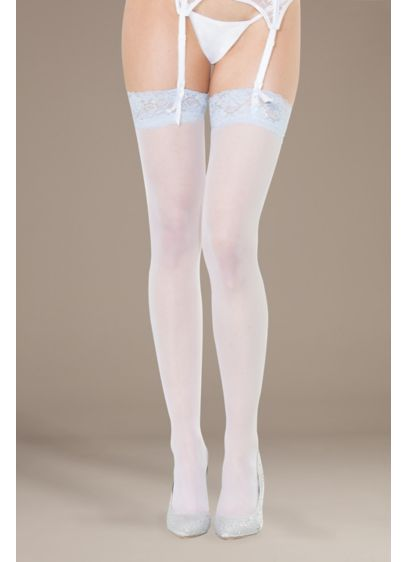 Coquette I Do Thigh Highs - Wedding Accessories