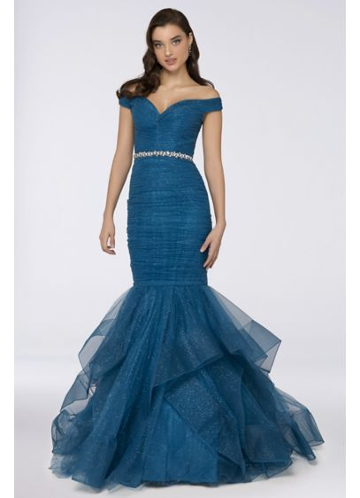 Long Mermaid/ Trumpet Formal Dresses Dress - Terani Couture